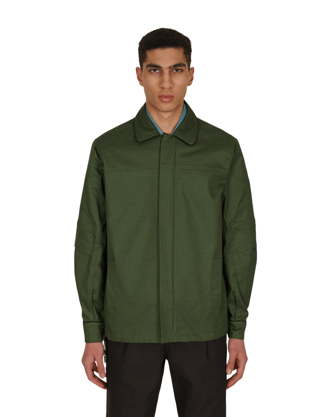 Photo: Gr10k Dms Order Opal Green Overshirt Forest Green