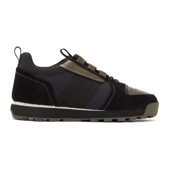 Photo: rag and bone Black Retro Hiker Sneaker