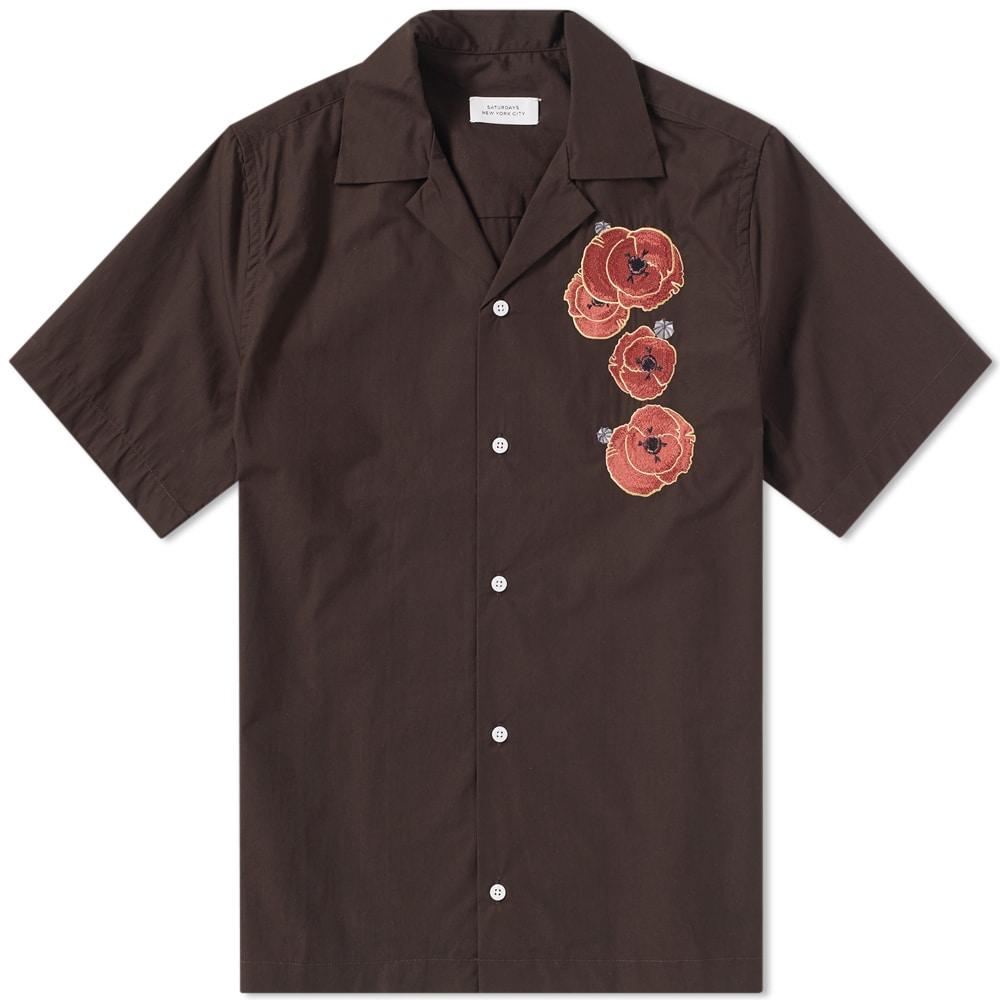 Photo: Saturdays NYC Short Sleeve Canty Opium Shirt