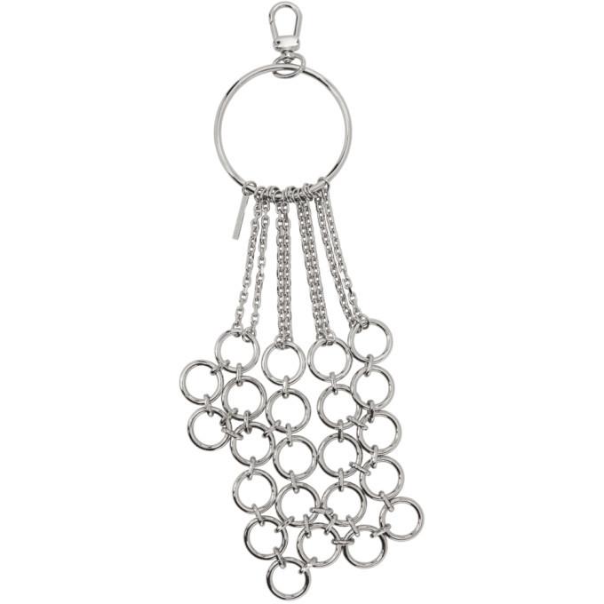 Photo: Dries Van Noten Silver O-Ring Keychain