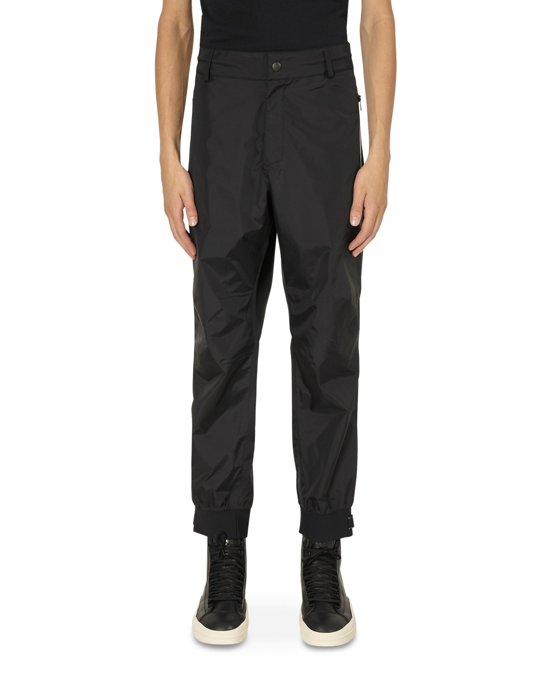 Photo: Moncler Tech Pants Black