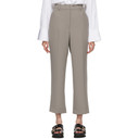 3.1 Phillip Lim Grey Cady Heavy Relaxed Trousers