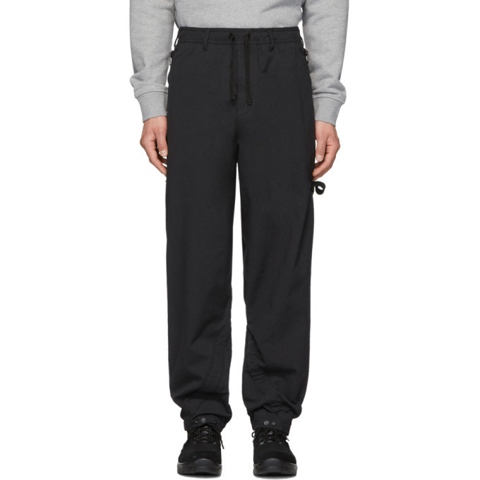 Photo: Stone Island Shadow Project Black Articulation Tunnel Trousers