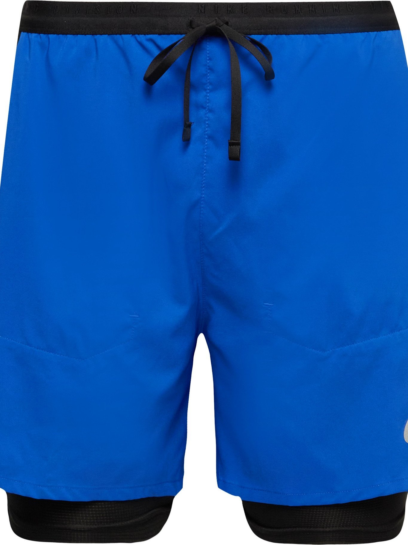 Photo: Nike Running - Flex Stride Run Division Slim-Fit 2-in-1 Dri-FIT Drawstring Shorts - Blue