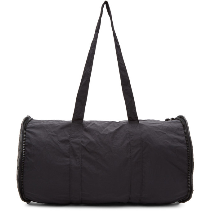 Photo: Bottega Veneta Black Round Pouch Duffle Bag