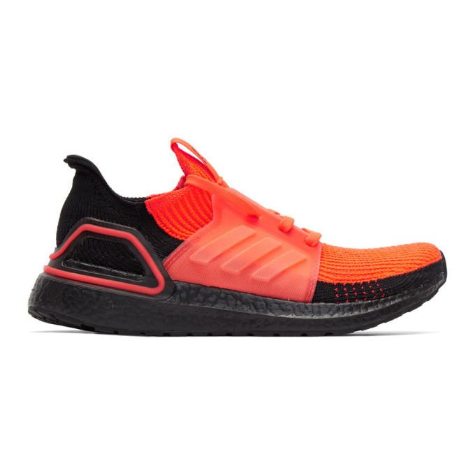 Photo: adidas Originals Red Ultraboost 19 Sneakers