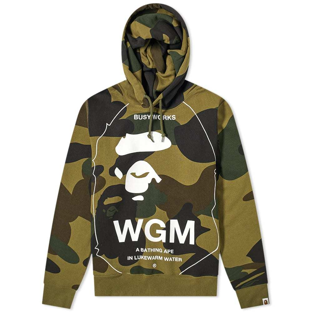 Photo: A Bathing Ape Giant 1st Camo Wide Pullover Hoody