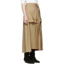 3.1 Phillip Lim Beige Wool Patchwork Skirt