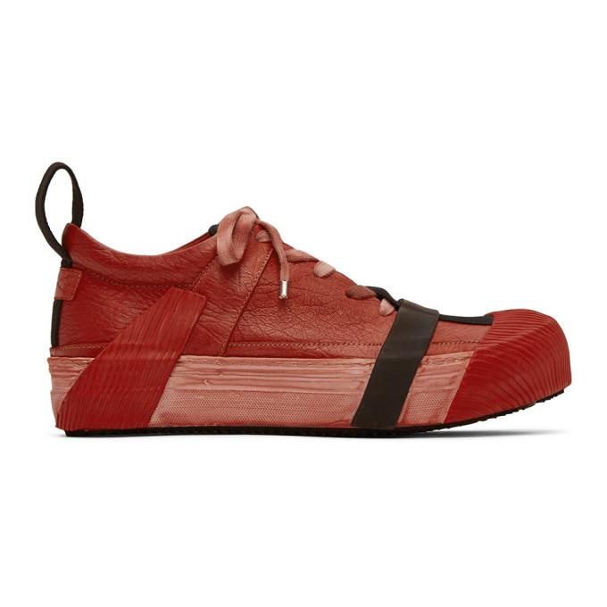 Photo: Boris Bidjan Saberi Red Bamba2 Sneakers