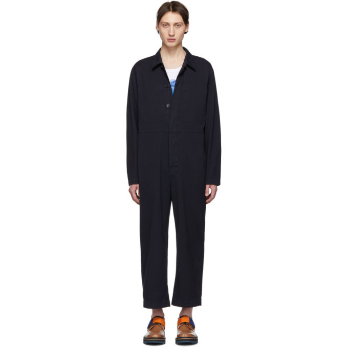 Photo: Dries Van Noten Navy Peanut Jumpsuit
