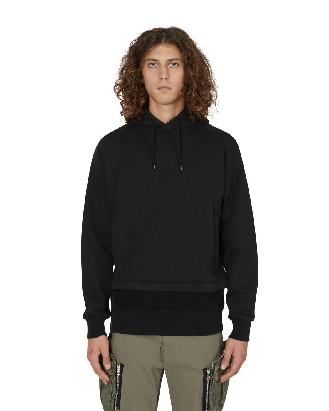 Photo: Stone Island Shadow Project Hooded Sweatshirt Black