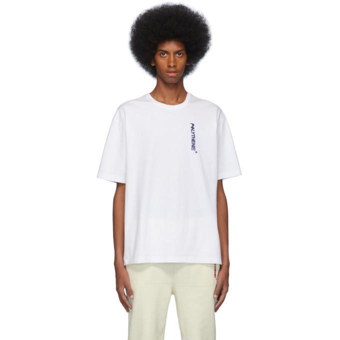 Photo: Polythene* Optics White Logo T-Shirt