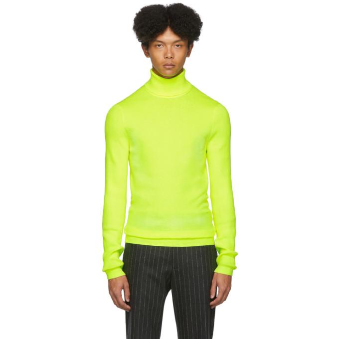 Photo: Paul Smith Yellow Roll Neck Sweater