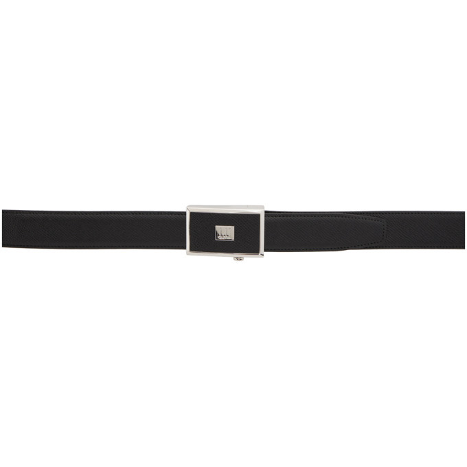 Photo: Dunhill Black Legacy Automatic Buckle Belgrave Belt