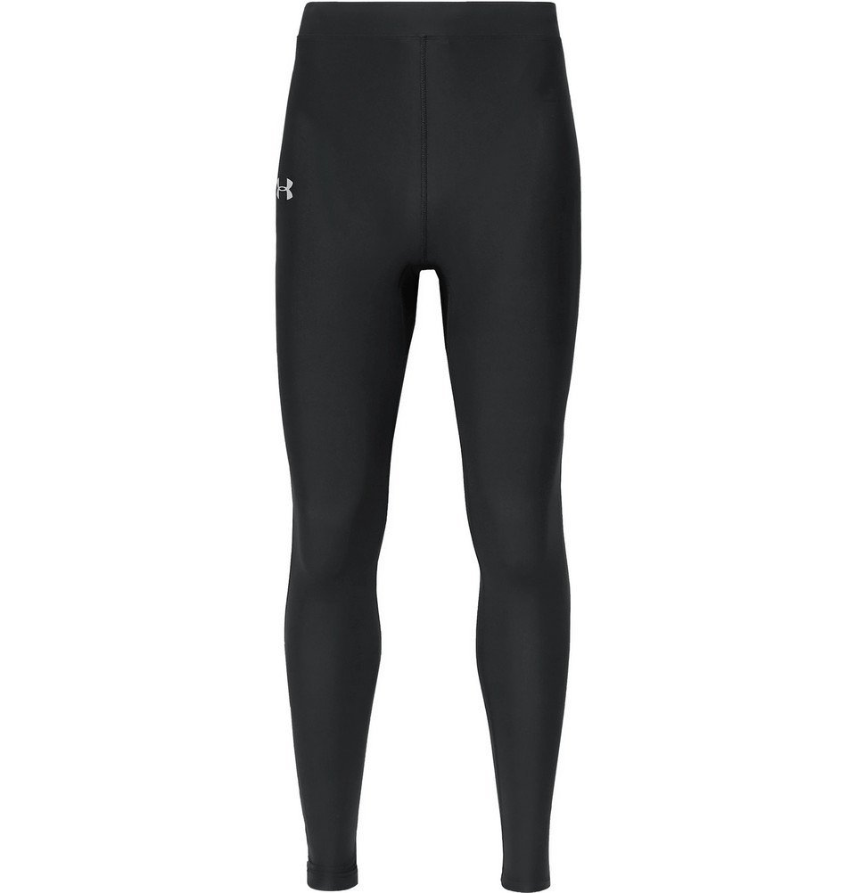 Photo: Under Armour - Qualifier Heatgear Compression Tights - Black