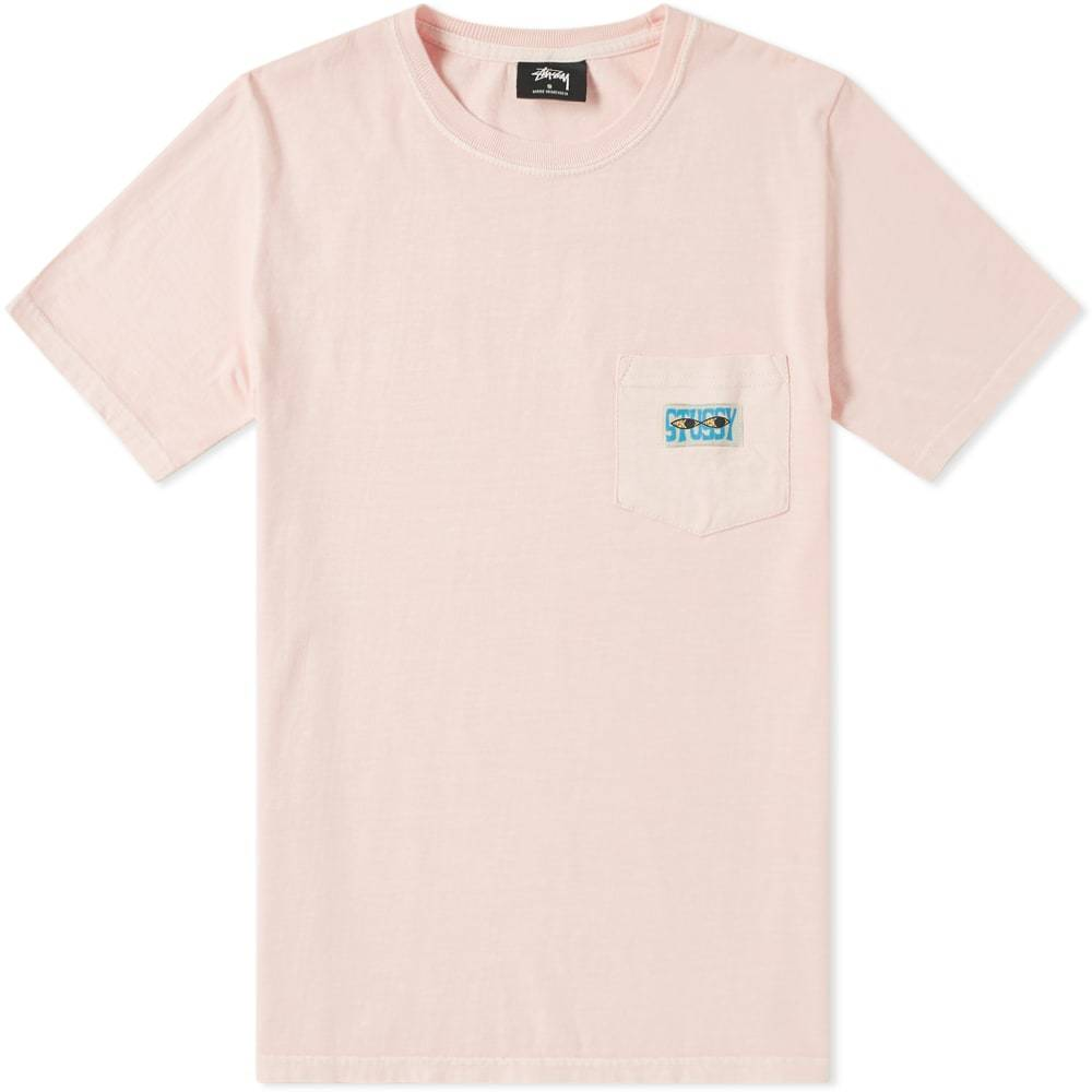 Photo: Stussy Red Eyes Pigment Dyed Pocket Tee