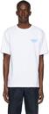 A.P.C. White Gimme Five Edition Steve T-Shirt