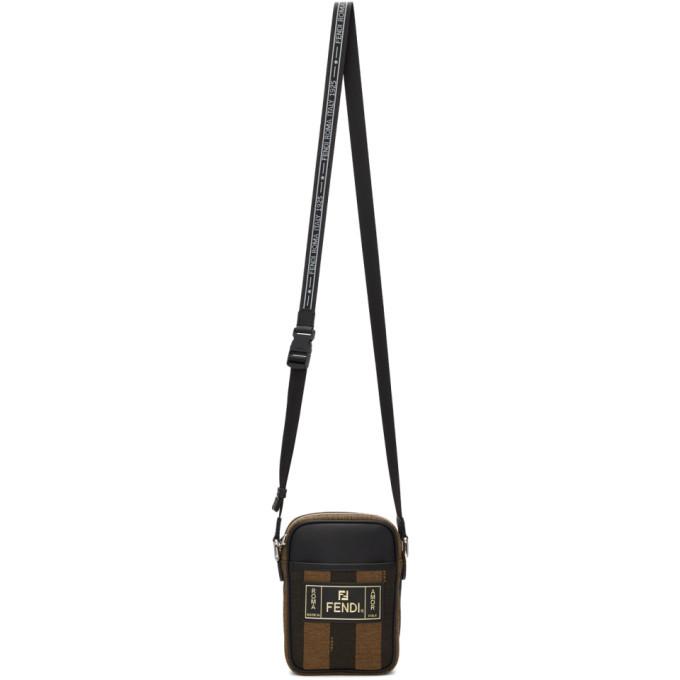 Photo: Fendi Brown Small Stripe Camera Bag