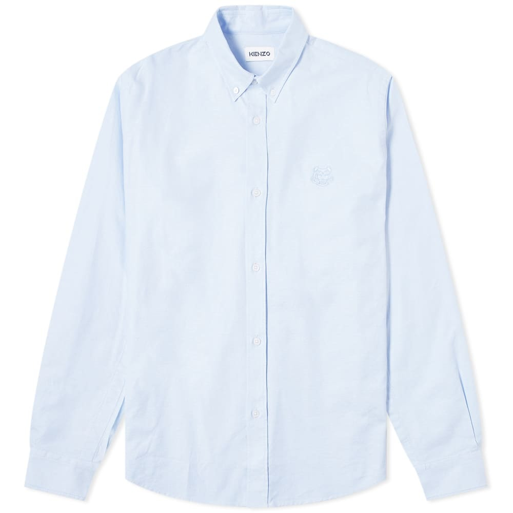 Photo: Kenzo Tiger Crest Button Down Oxford Shirt
