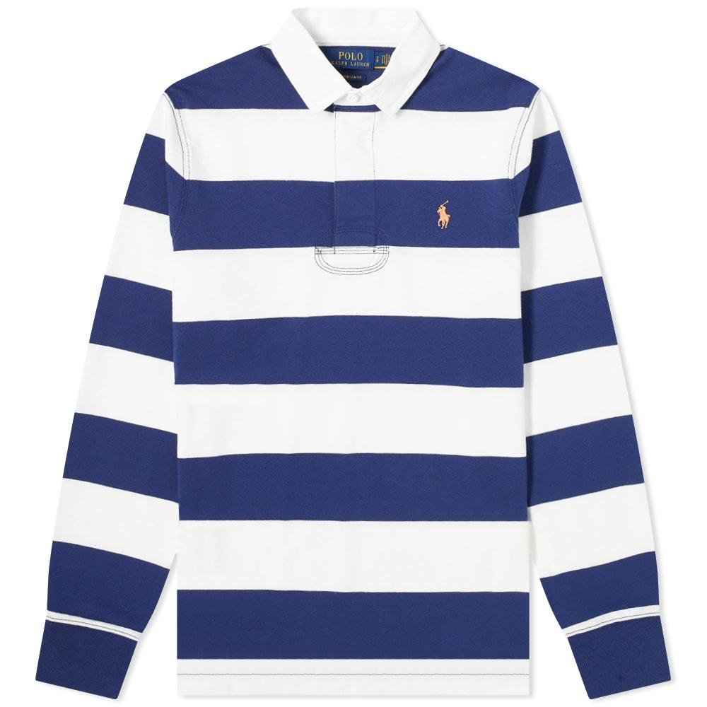 Photo: Polo Ralph Lauren Striped Jersey Rugby Shirt