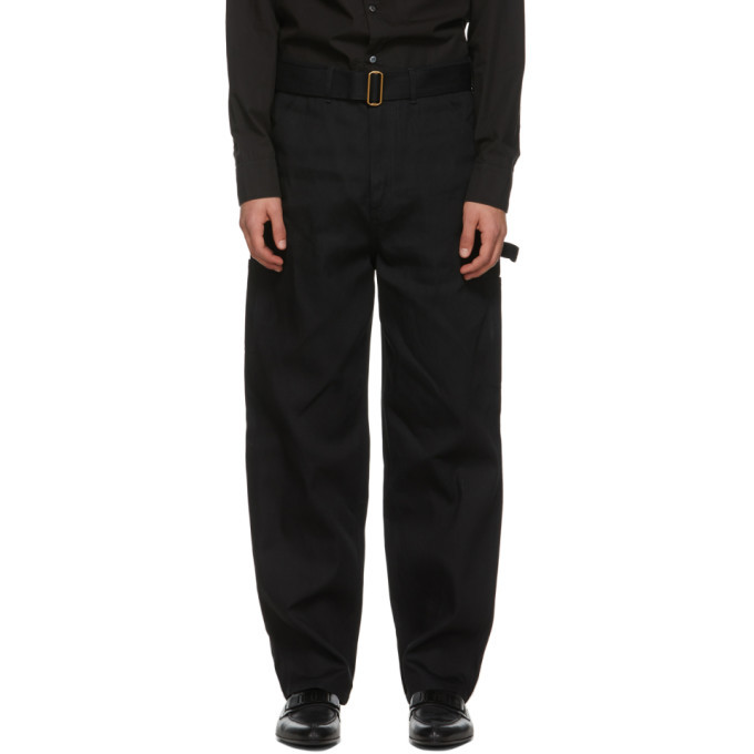 Dunhill Black Utility Jeans