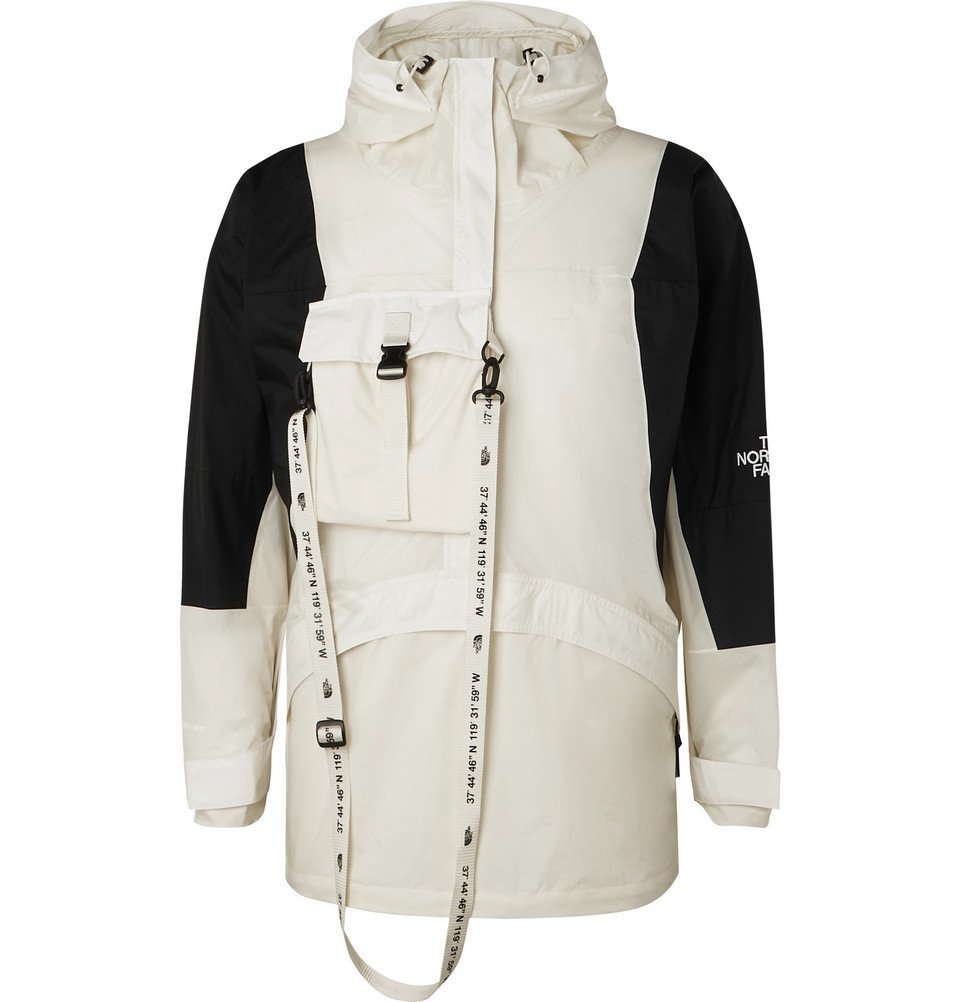 Photo: The North Face - Black Series KK Webbing-Trimmed Shell Hooded Jacket - Off-white