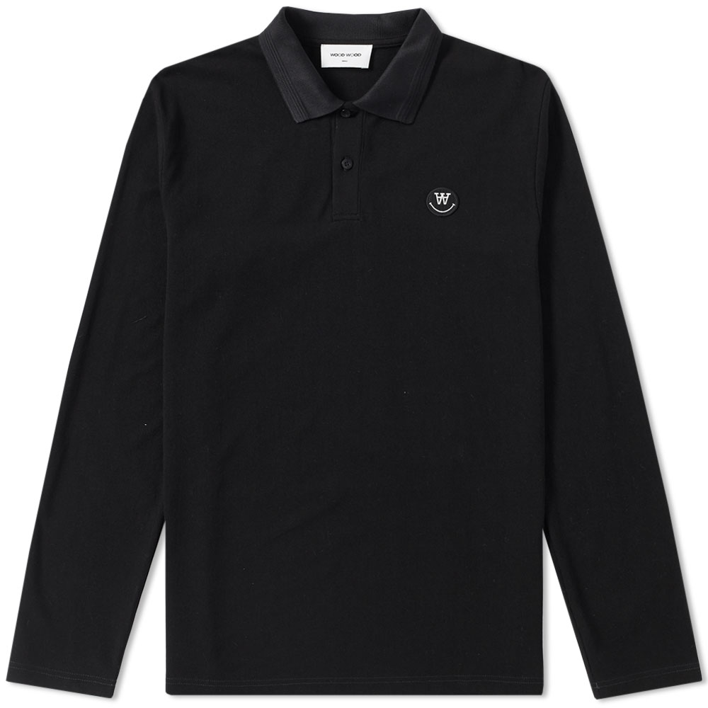 Photo: Wood Wood Long Sleeve George Polo
