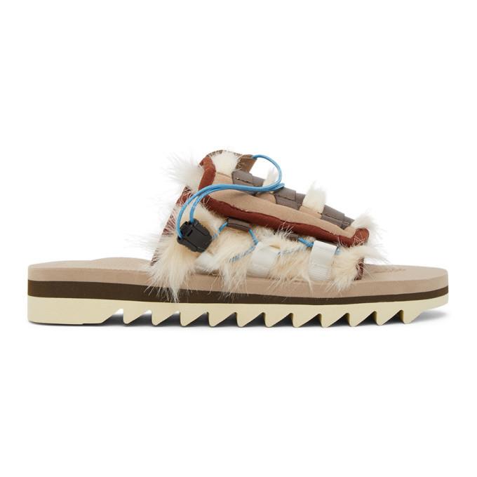 Photo: Suicoke Beige DAO-3 Sandals