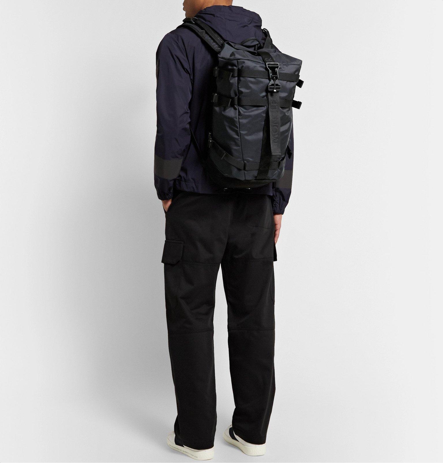Moncler - Argens Nylon-Ripstop Backpack - Black