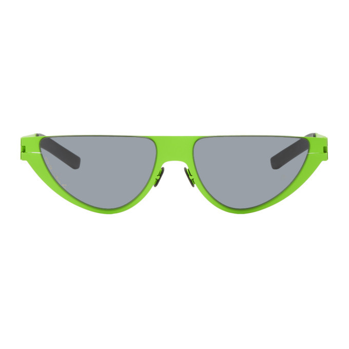 Photo: Martine Rose Green Mykita Edition Kitt Sunglasses