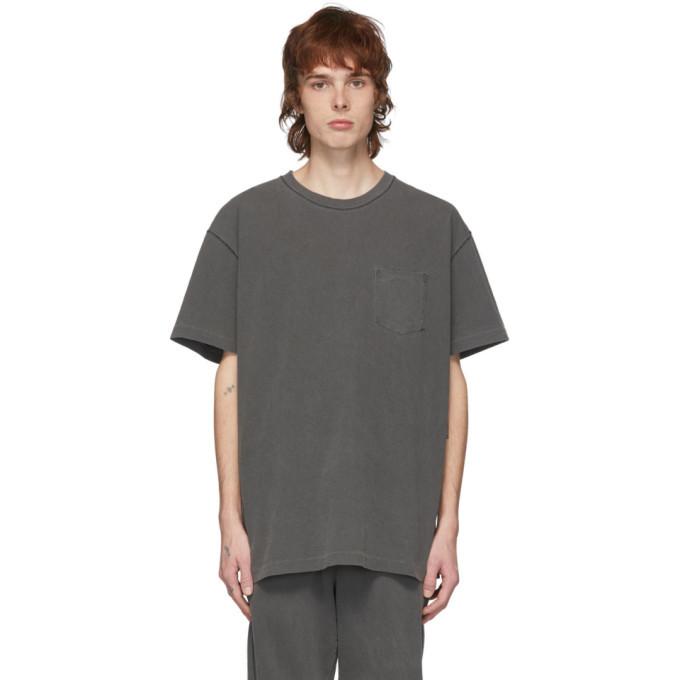 Photo: John Elliott Grey Loose Stitch Pocket T-Shirt