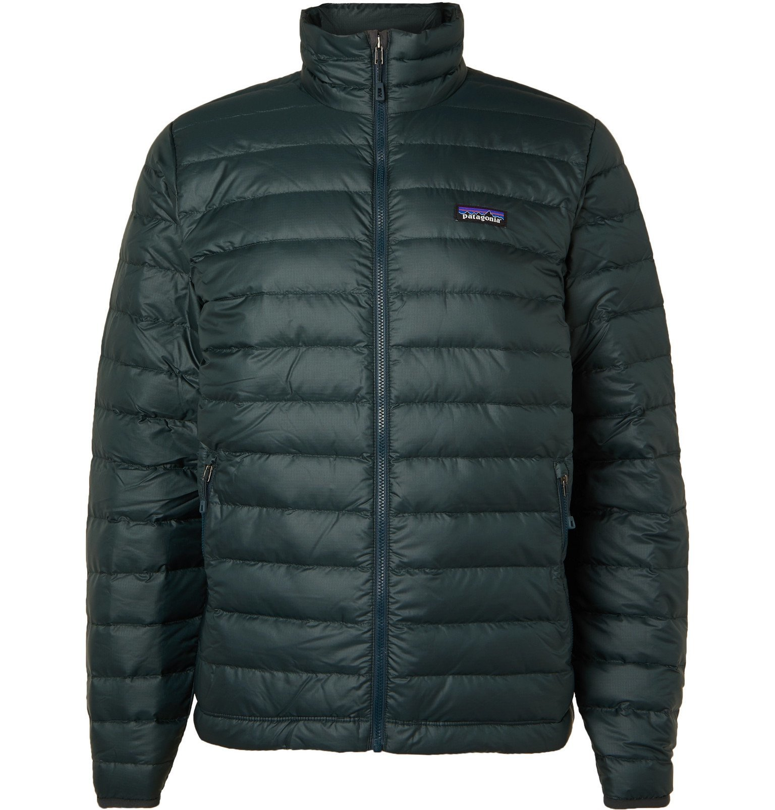Photo: Patagonia - Quilted Ripstop Down Jacket - Green