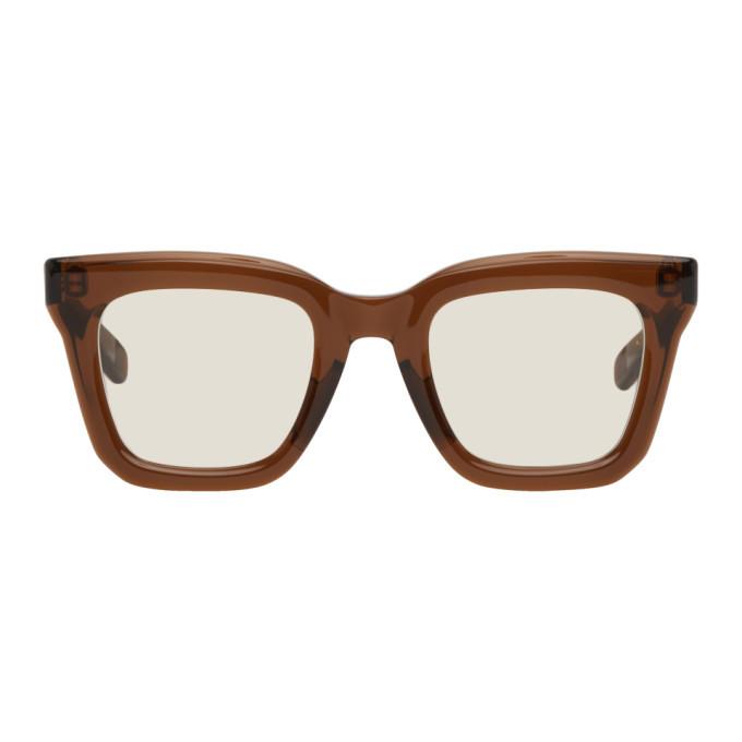 Photo: Sacai Brown Native Sons Edition Cornell Sunglasses