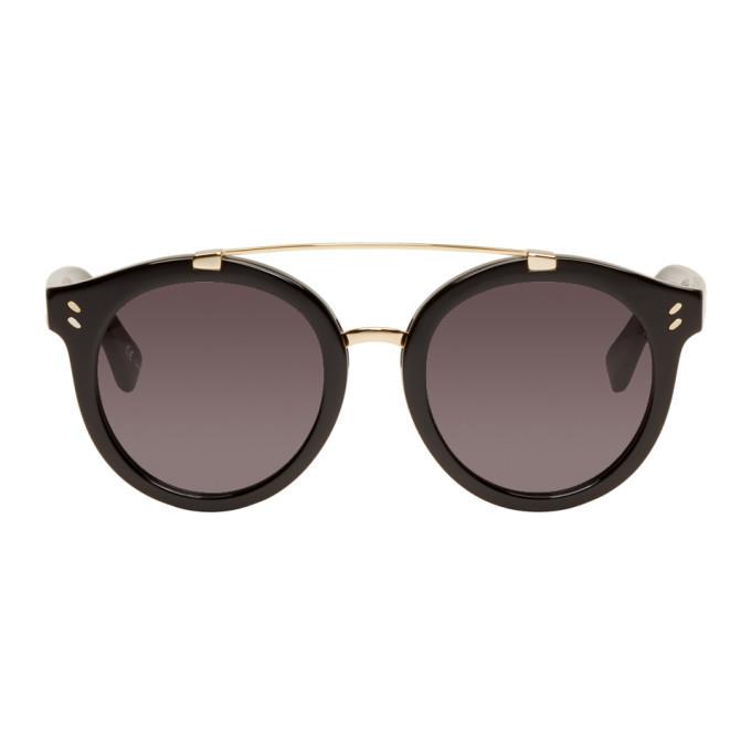 Photo: Stella McCartney Black Double Bridge Sunglasses