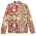 Martine Rose - Cotton-Jacquard Shirt - Red