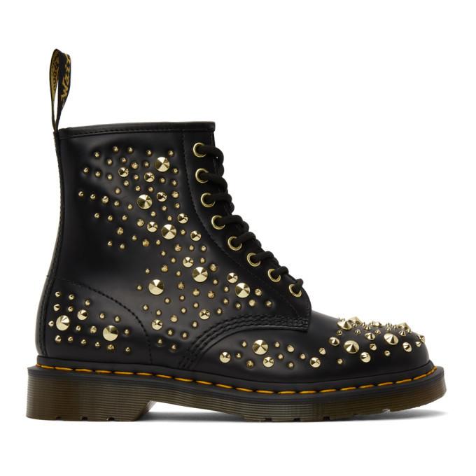 Dr. Martens Black 1460 Midas Boots Dr