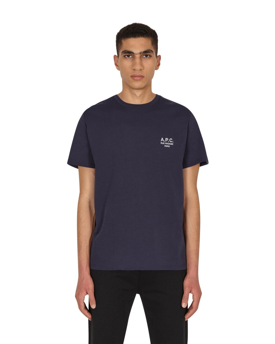 Photo: A.P.C. Raymond T Shirt Dark