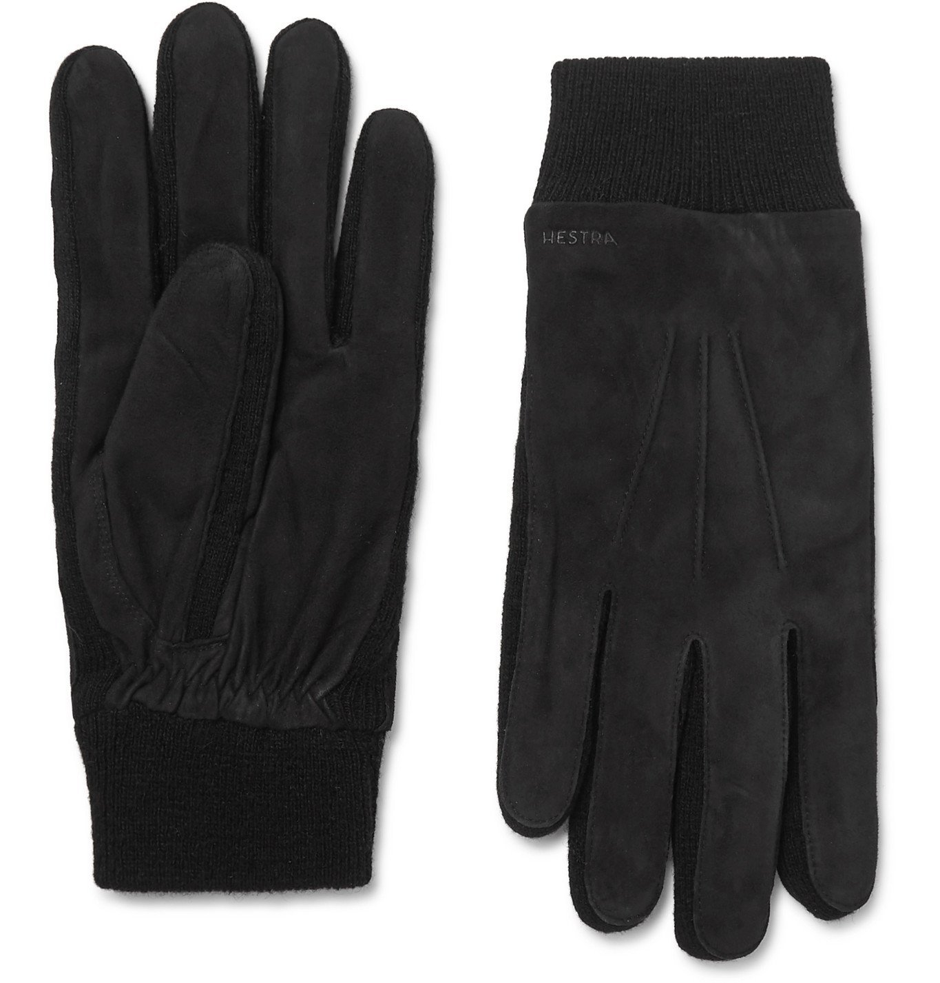 Photo: Hestra - Geoffrey Suede Gloves - Black