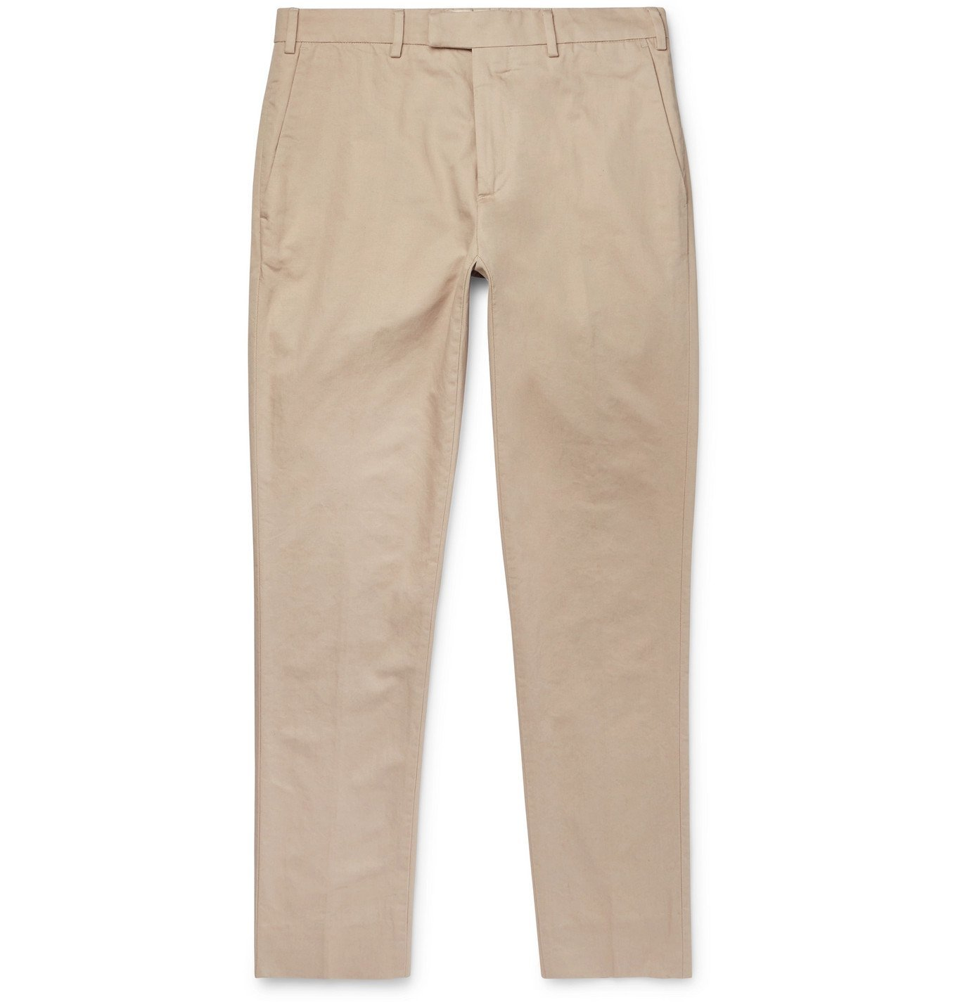 Photo: SALLE PRIVÉE - Gehry Slim-Fit Cotton and Linen-Blend Twill Trousers - Neutrals