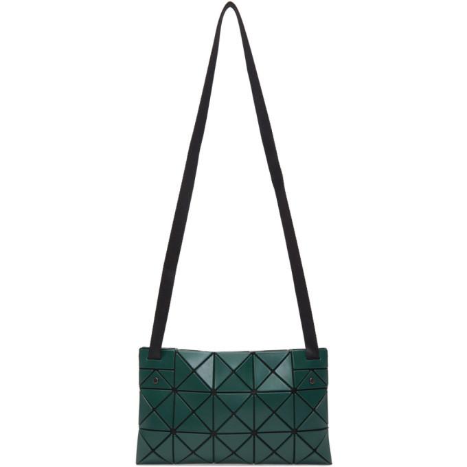 Photo: Bao Bao Issey Miyake Green Matte Lucent Crossbody Bag