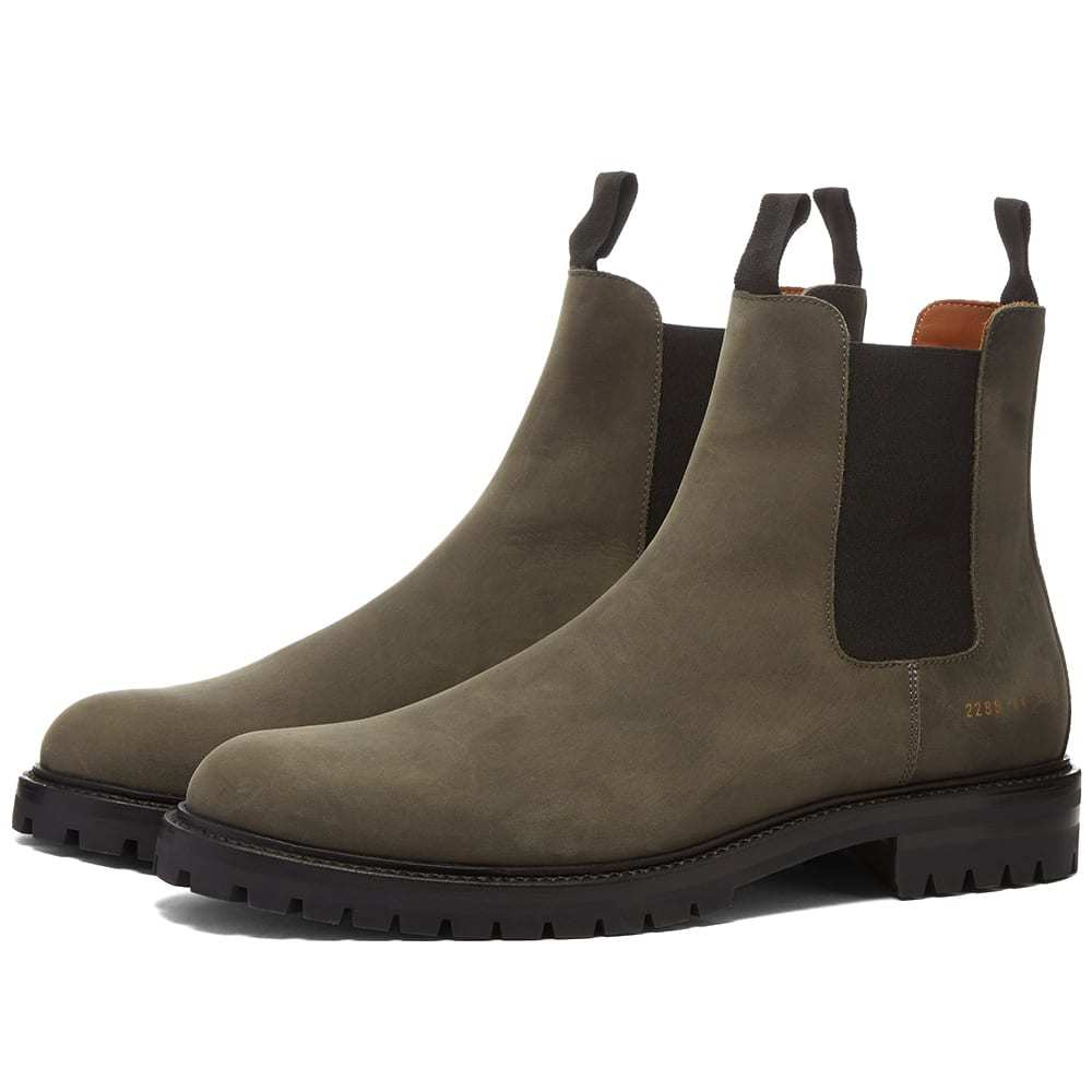 Photo: Common Projects Winter Chelsea Boots