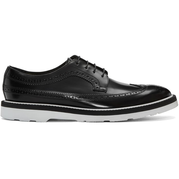 Photo: Paul Smith Black Grand Brogues