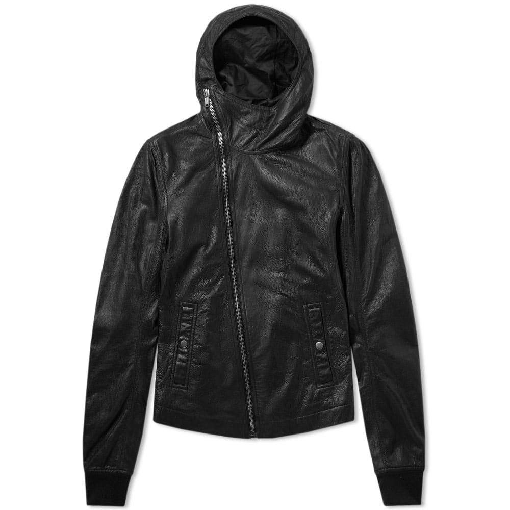 Photo: Rick Owens Bullet Leather Jacket Black