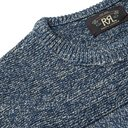 RRL - Slim-Fit Mélange Cotton Sweater - Blue