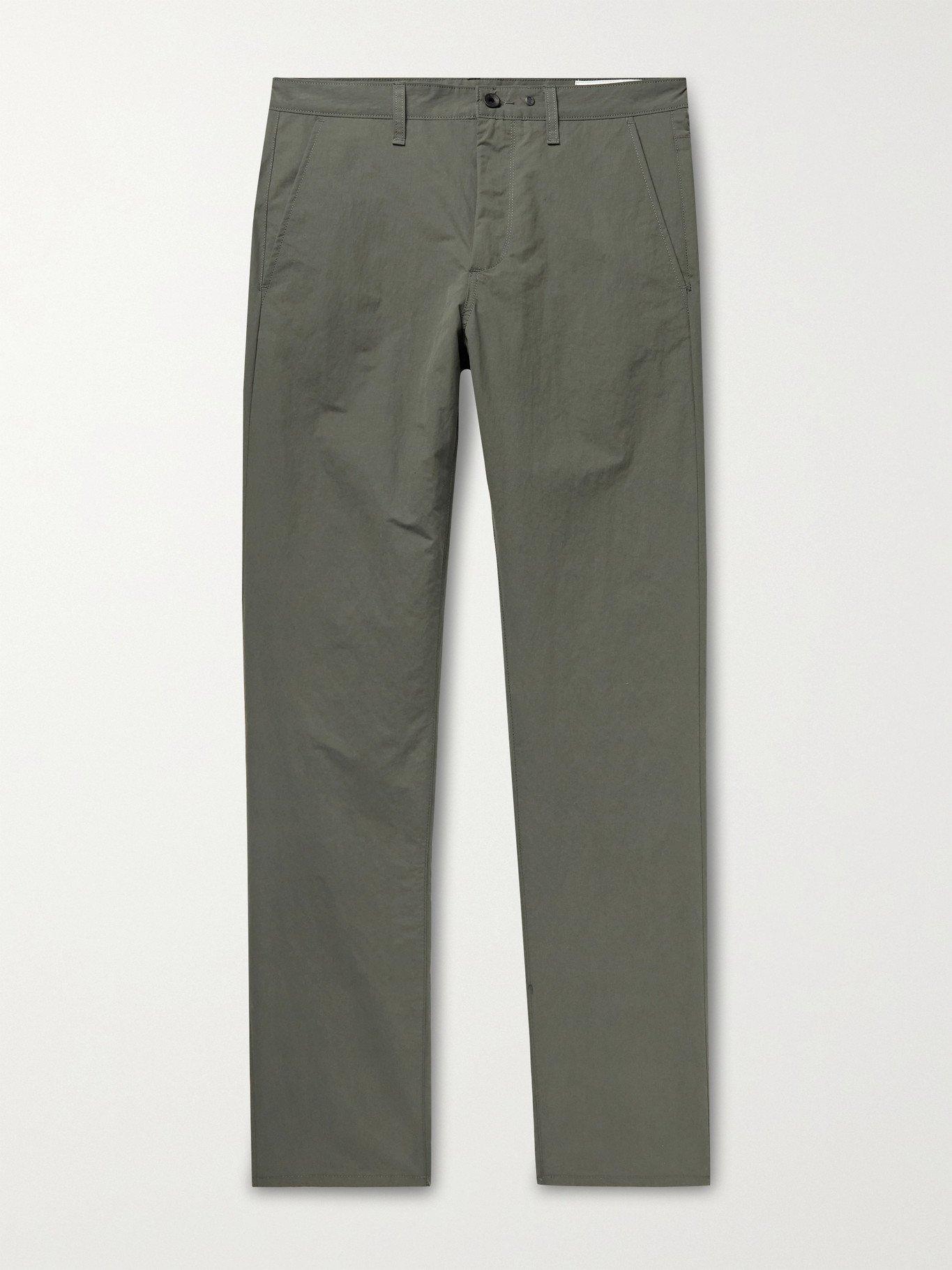 Photo: RAG & BONE - Fit 2 Slim-Fit Nylon and Cotton-Blend Poplin Chinos - Green