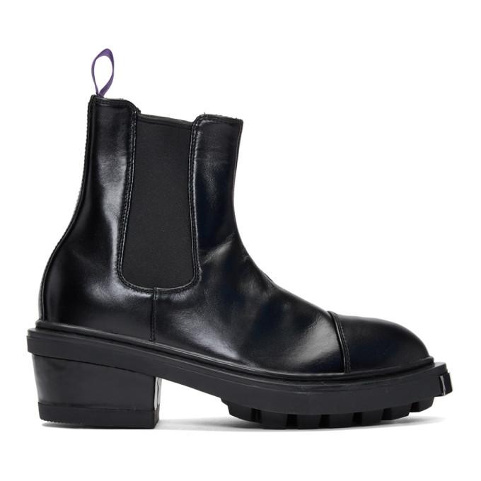 Photo: Eytys Black Leather Nikita Chelsea Boots