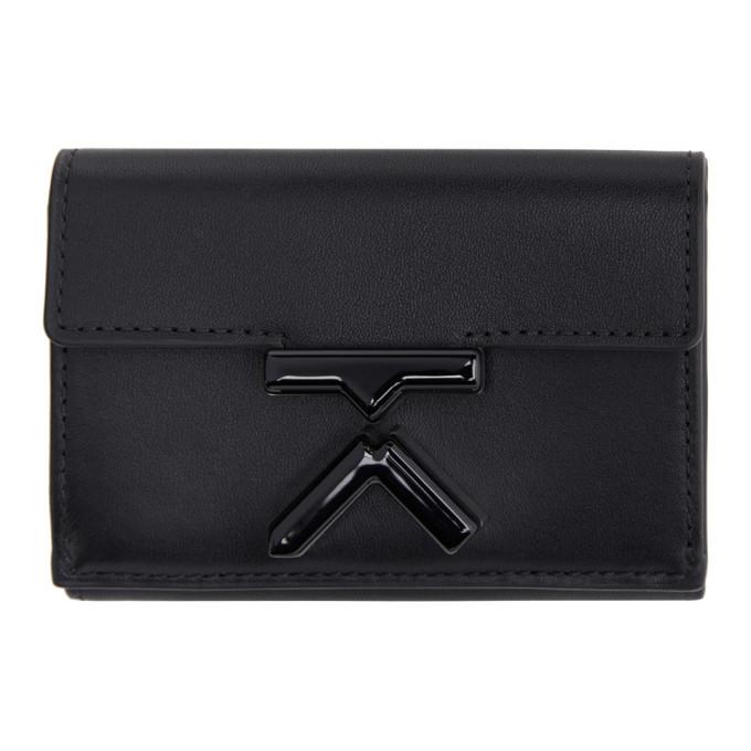 Photo: Kenzo Black Mini K Trifold Wallet
