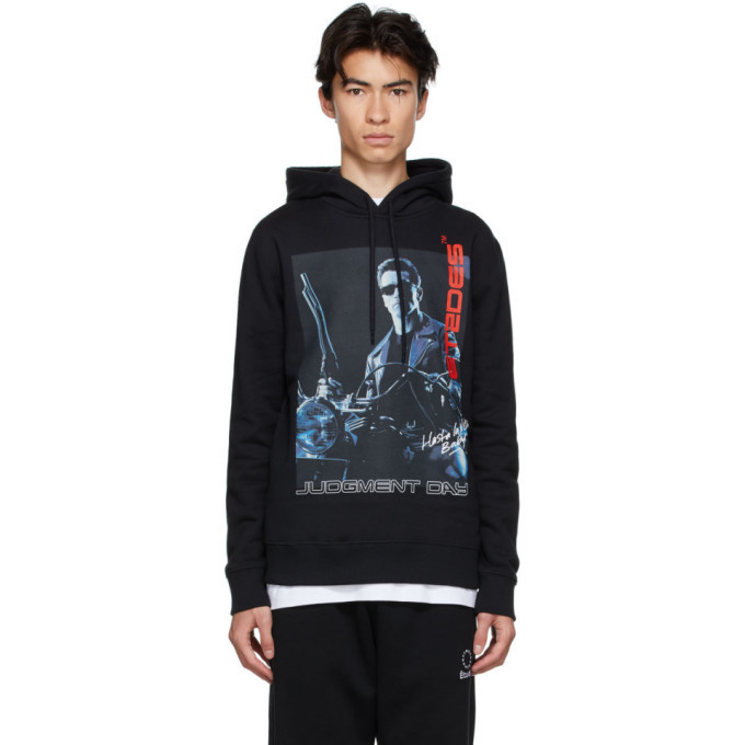 Photo: Etudes Black Terminator 2 Edition Hasta La Vista Hoodie