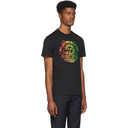 Stella McCartney Black and Multicolor We Are The Weather Sun T-Shirt