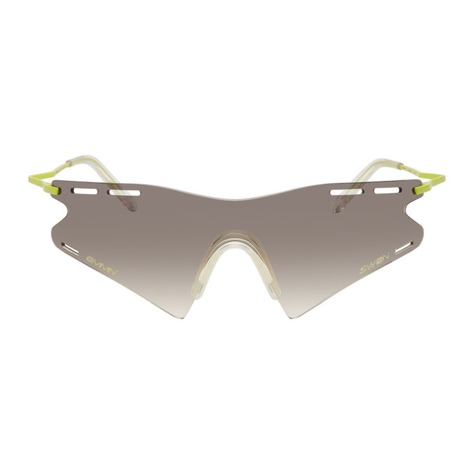 Photo: CMMN SWDN Green and Grey Ace and Tate Edition Le Monde Sunglasses